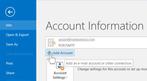 اتصال ایمیل به آوتلوک
