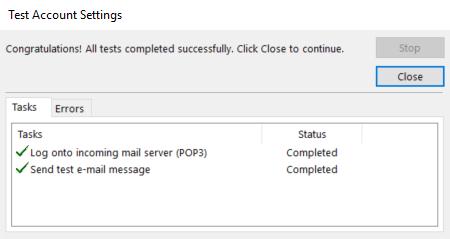 تنظیمات صحیح اوتلوک و اتصال به ایمیل